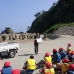 台風&自然学校に伴う日本海側のダイビングのご予約について