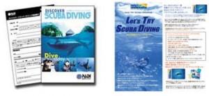体験ダイビング補助教材