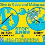 ダイバーの皆さんへ~フィリピンを応援しましょう