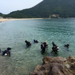 日本列島に台風が接近の際は日本海でのダイビングがオススメです