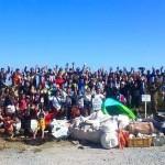 山陰海岸ジオパーク・日本の渚百選の竹野浜をきれいにしよう!2016